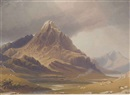 View of Tryfan, North Wales by George Fennel Robson