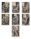 The Liberal Arts (7 works) by Georg Pencz