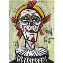 Clown à la Fraise by Bernard Buffet