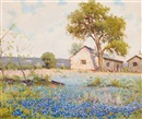 Field of Bluebonnets by Robert William Wood