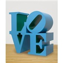 Love (Blue/Green) by Robert Indiana