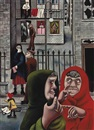 The Gorbals by Edward Burra