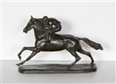 Untitled - Horse and Rider by John Rattenbury Skeaping