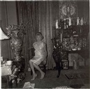 A widow in her bedroom, NYC by Diane Arbus