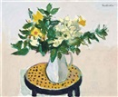 Still Life with Daffodils by Alberto Morrocco