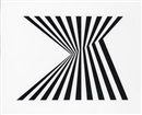 Untitled (Fragment 1) by Bridget Riley