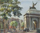 Hyde Park Corner, London by Max Hofler