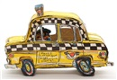 Rukus Taxi (4 works) by Red Grooms