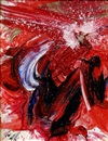 Dancing Phoenix by Kazuo Shiraga