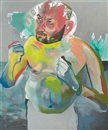 Untitled (from the series Hand-Painted Pictures) by Martin Kippenberger