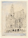 Hôtel de Ville d'Audenaerde by James Ensor