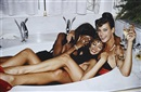 Three Models in a Tub, Paris by Roxanne Lowit