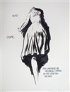 No Title (Alice!, Come..) (from Twelve Prints Portfolio by Raymond Pettibon) by Raymond Pettibon