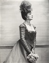 Coral Browne as Mrs. Erlynne in lady Windermere's Fan by Cecil Beaton