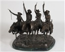 Coming Through the Rye by Frederic Remington