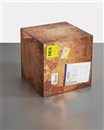 20-inch Copper (FedEx® Large Kraft Box ©2005 FEDEX 330508), International Priority, Los Angeles-London trk#862012042283, December 8 by Walead Beshty