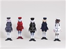 Inochi Doll: Zhang, David, Victor, Yamamoto and Bob (set of 5) by Takashi Murakami