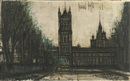 Londres, Le Parlemet by Bernard Buffet