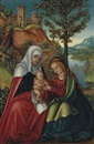 The Virgin and Child with Saint Anne by Lucas Cranach the Elder