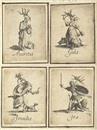 Les Septs Pechés Capitaux (album w/7 works) by Jacques Callot