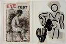 Eye test (diptych) by William Kentridge