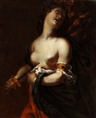 Halbbildnis der Lucretia (circle of Francesco Pignoni) by  Anonymous-Italian (17)