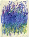 Ohne Titel (diptych) by Joan Mitchell