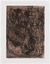 Der Adler pl.5 (from 8 Radierungen) by Georg Baselitz
