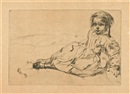 Bibi Valentin by James Abbott McNeill Whistler