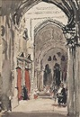 Cathedral, Córdoba by William Nicholson