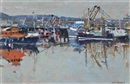 Fishing Fleet by Ken Howard