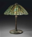 Spider table lamp by  Tiffany Studios