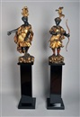 Paire de statues (pair) by  Anonymous (18)