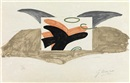 Oiseau en Vol (Vogelflug) by Georges Braque