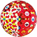 Flowerball Red (2D) The Magic Flute by Takashi Murakami