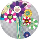 Purple Flower in a Bouquet by Takashi Murakami
