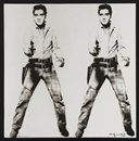 Elvis - platin by Andy Warhol