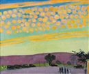 Coucher de soleil à Pittsburgh by Maurice Denis