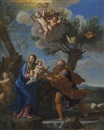 The Flight into Egypt by Carlo Maratta
