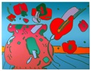 Marilyn's Flowers by Peter Max