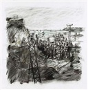 Highveld Landscape by William Kentridge