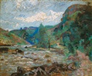 Moulin Bouchardon, Crozant by Armand Guillaumin