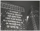 To acquire... by Jenny Holzer