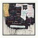Museum Security (Broadway Meltdown) by Jean-Michel Basquiat