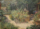 Jardin au printemps by Louis Abel-Truchet