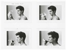 The Candy Kiss (set of 4) by Duane Michals