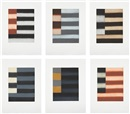 Enter Six (portfolio of 6) by Sean Scully