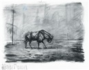 Wildebeest by William Kentridge