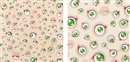 Jellyfish eyes (set of 2) by Takashi Murakami