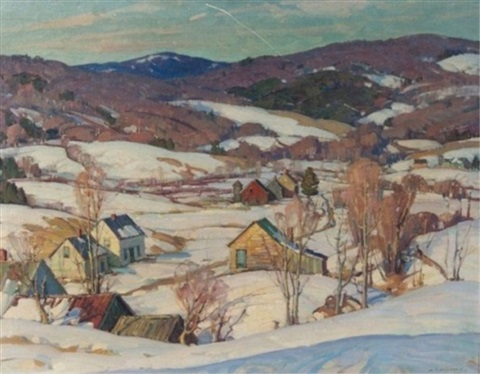 Winter in Vermont by Aldro Thompson Hibbard